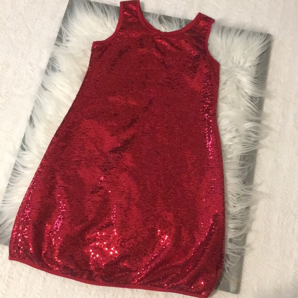 Other - Gorgeous girls red sequin dress